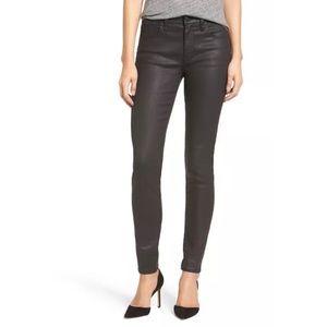 """Madewell 9"""" Skinny Skinny High Riser Coated Jeans"""